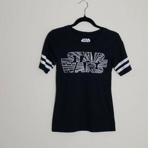 Star Wars black and white tee